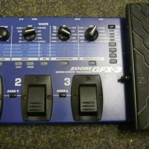 Effectenpedaal ZOOM GFX-3