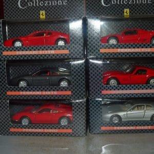 Diverse modelauto's Shell Collezione
