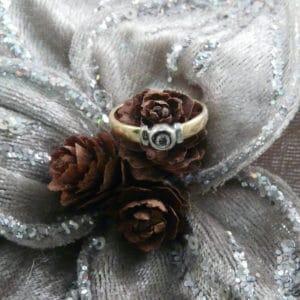 gouden klassieke ring