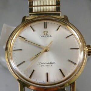 gouden horloge Omega