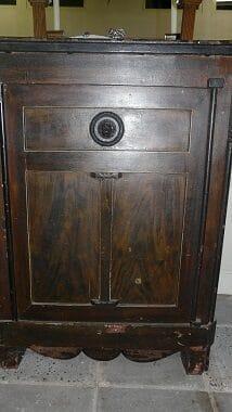 franse kluis eerste deur
